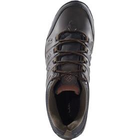 Columbia Peakfreak Woodburn II Shoes waterproof Men, cordovan / cinnamon